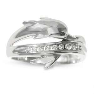Dolphin ring. So beautiful.