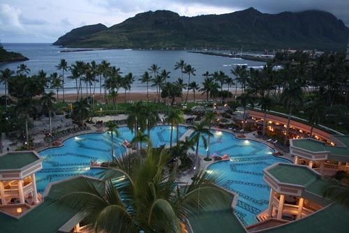 Kauai Marriott Resort On Kala Beach Tropical Elegance Lihue