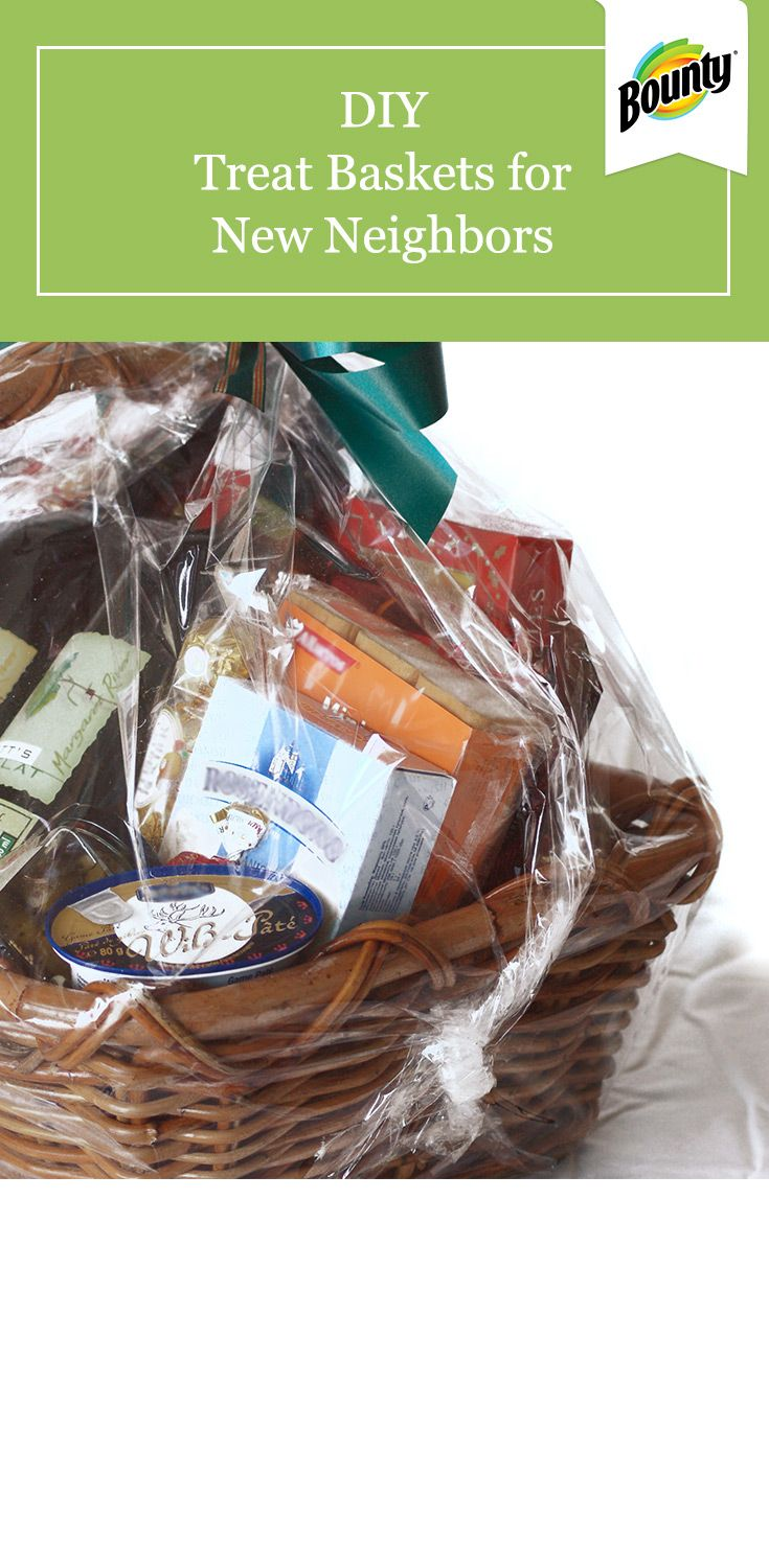 These Easy Diy Treat Baskets Make A Great Welcome Gift For New