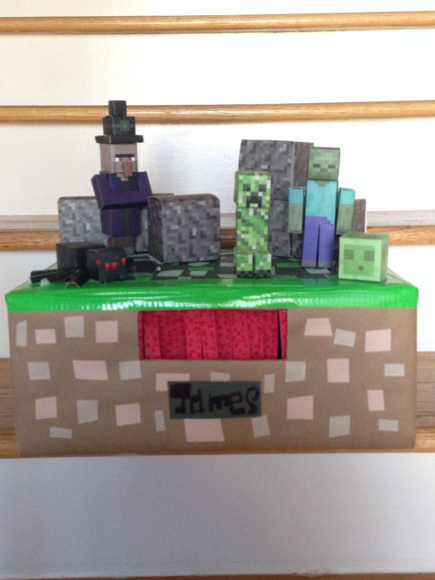 2nd Grade Minecraft Overworld Hostile Mobs James Valentine