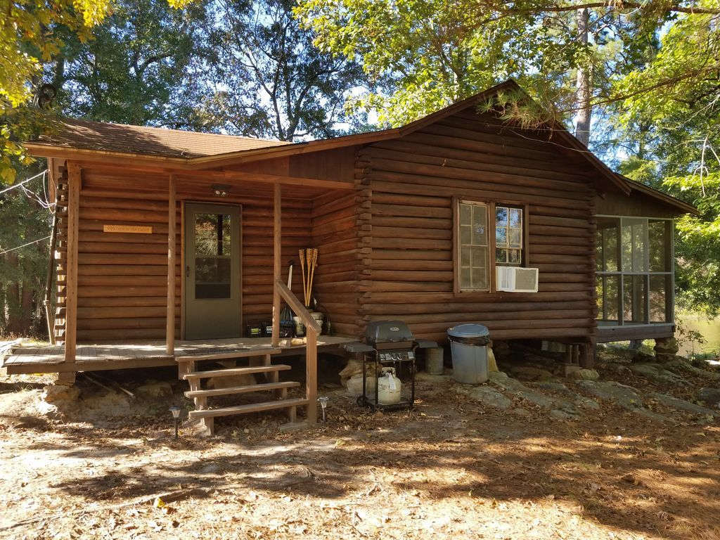Ordinaire Secluded 1930u0027s Log Cabin On East Texas...   HomeAway Cass County