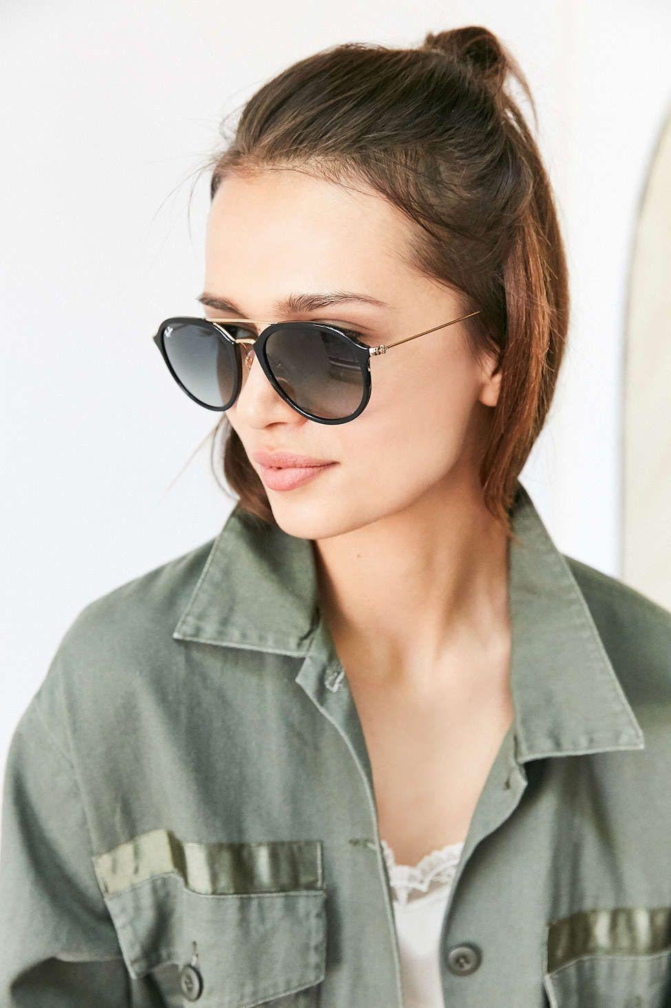 a790e15914 Ray-Ban Highstreet Aviator Sunglasses