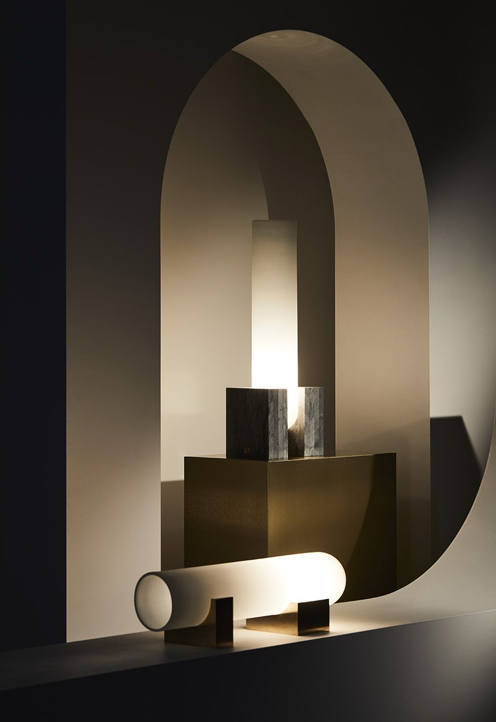 Table Lamp In Bedroom