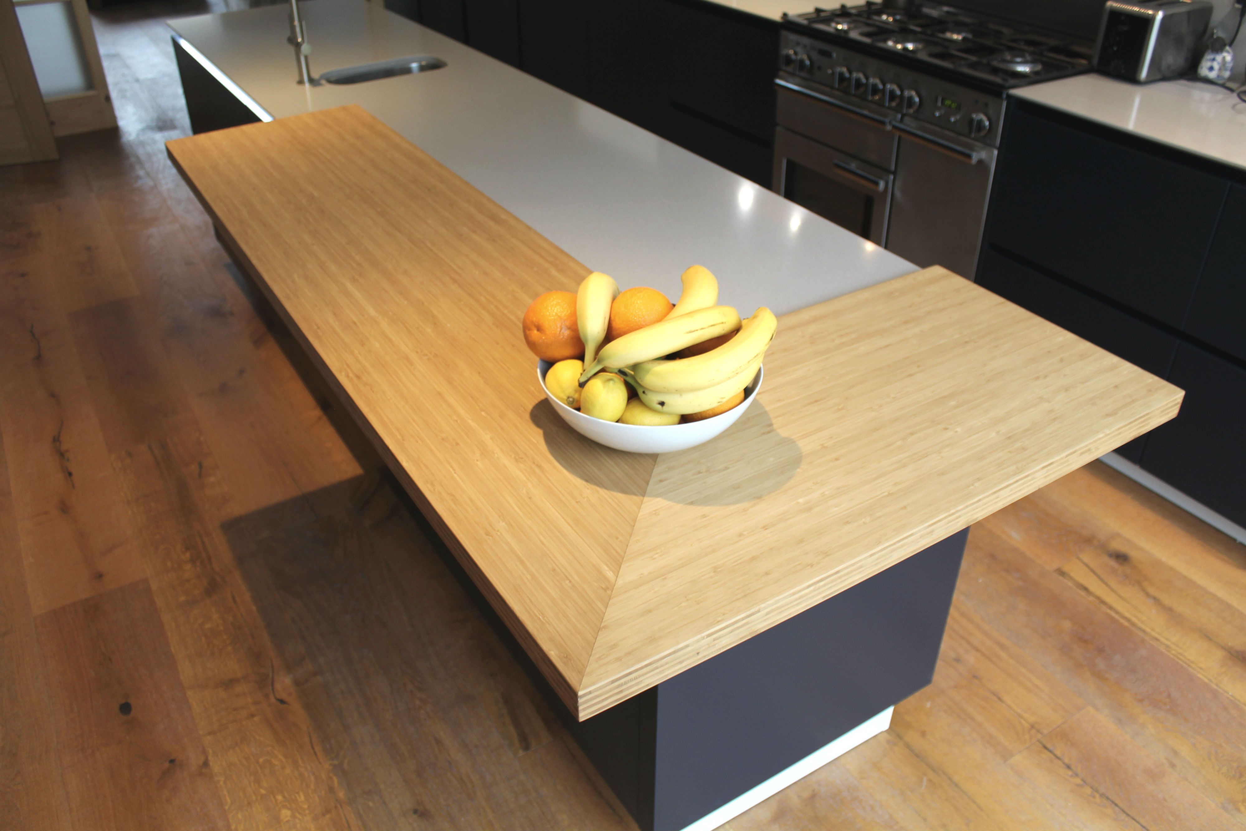Superieur Spekva Bamboo Bar Top On ALNOSTAR SUND Kitchen By Phil Harflett Of The ALNO  Store Bristol | The ALNO Store Bristol #worktop #breakfastbar #wood #spekva  ...
