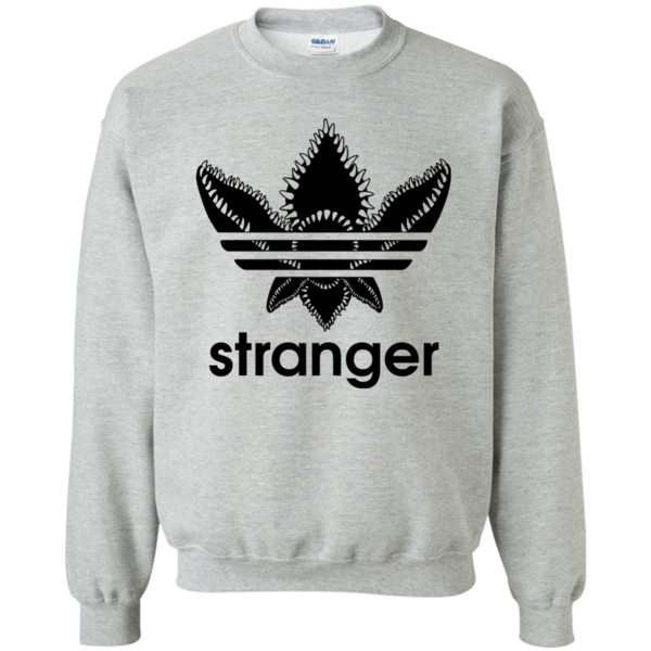 Stranger Things Stranger Demogorgon Adidas Logo Shirt, Hoodie, Long Sleeve  available.