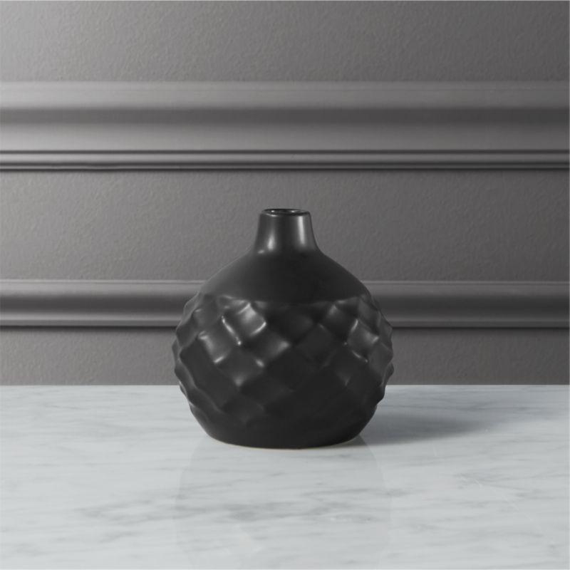 Cb2 Studded Bud Vase Pinterest Stoneware Terracotta And Planters