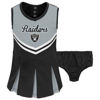 6a185e4c3df Oakland Raiders Infant/ Toddler In the Spirit Cheer Set 12 M, Multicolored