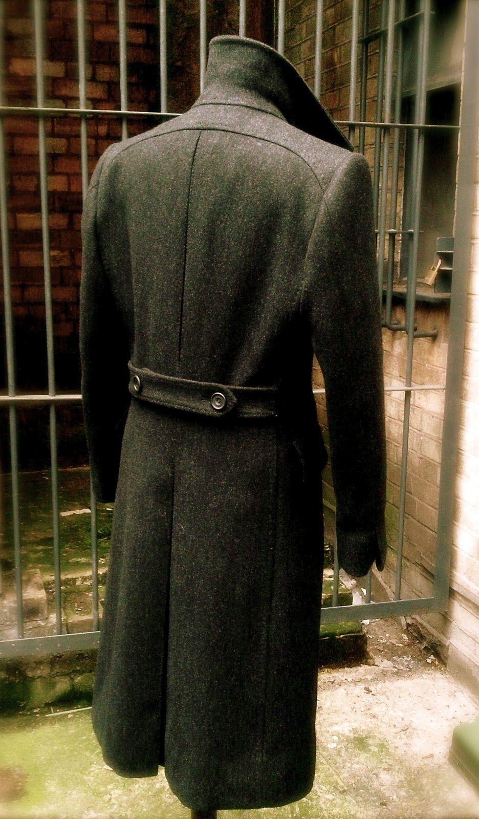 DAVIDE TAUB: Military Style 'Winter-Warm' Great Coat, 2010 ...