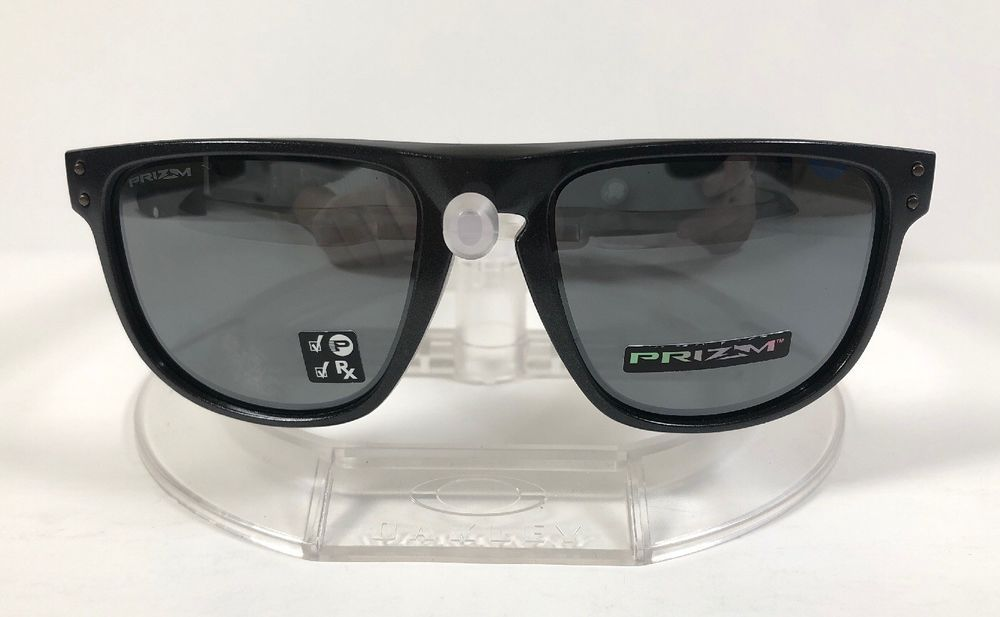 f9691d6d053 New Oakley Holbrook R Sunglasses Scenic Grey   Prizm Black Polarized  OO9377-0855  fashion  clothing  shoes  accessories  mensaccessories ...