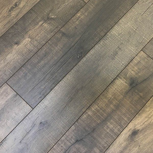 12mm Shadow Pine Laminate Flooring W Attached Underpad 11 63 Sf