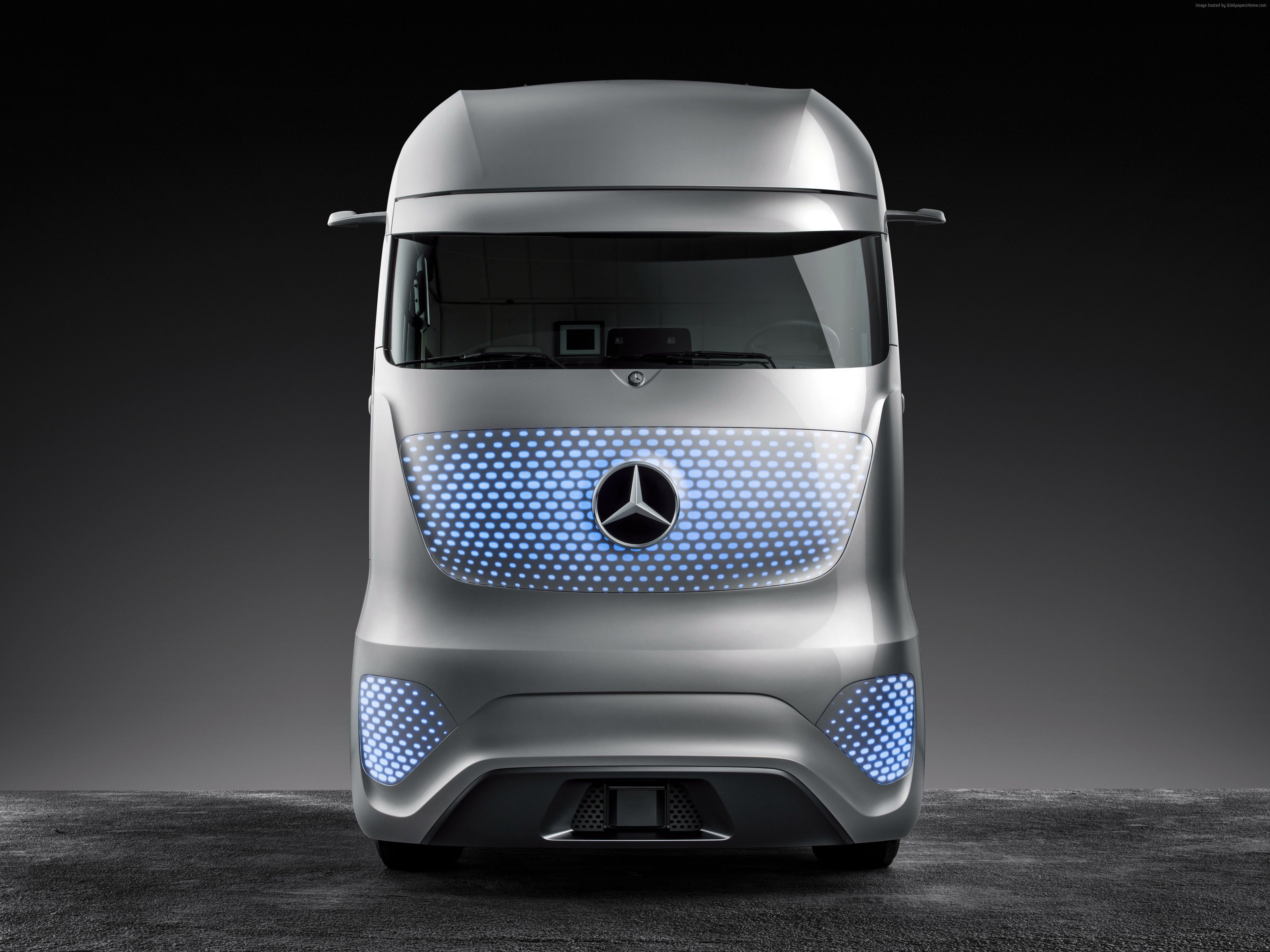 Wallpaper Mercedes Benz Future Truck  Future Cars Picture Site