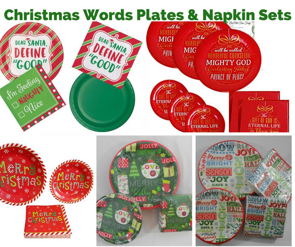 Marque Christmas Dinner Lunch Paper Plates and Napkins Marque Christmas Paper Plates \u0026 Napkins 24 Count inch Banquet Dinner Plates 40 Count -  sc 1 st  Pinterest & Pin by Christmas Wikii on Christmas Party | Pinterest | Christmas ...
