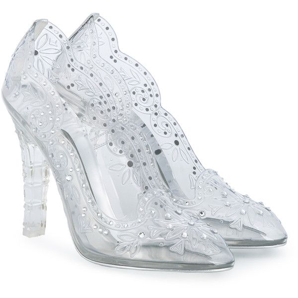b8fc452e8db Dolce & Gabbana Cinderella Heeled Pumps ($1,130) ❤ liked on ...