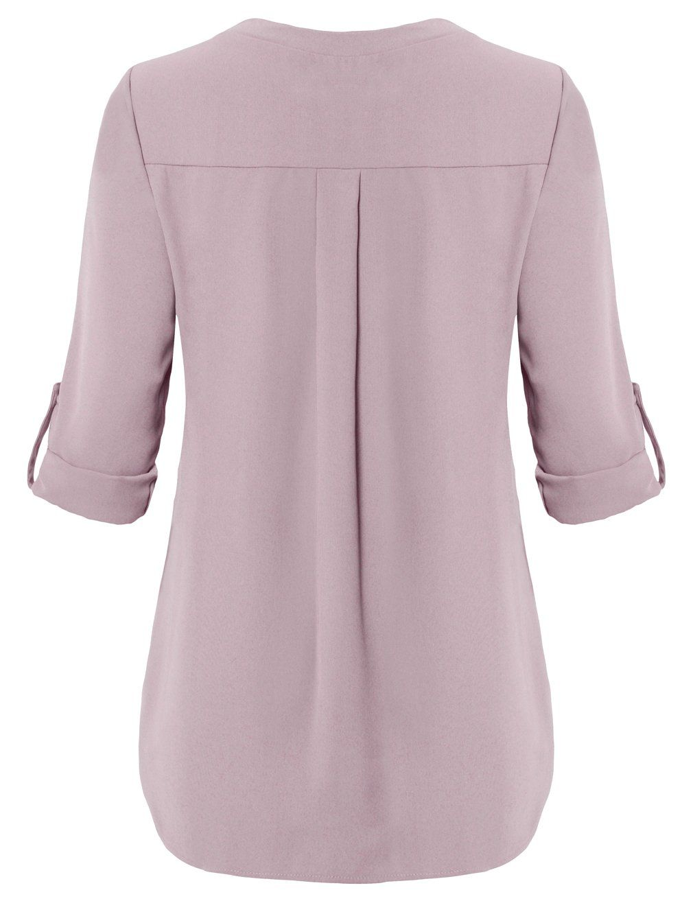 Youtalia Blouse For Women Ladies Casual Elegant Pink Chiffon Blouse V Neck Long Sleeve Pleated Easy Long Sleeve Blouse Dress Shirts For Women Blouses For Women [ 1313 x 1010 Pixel ]