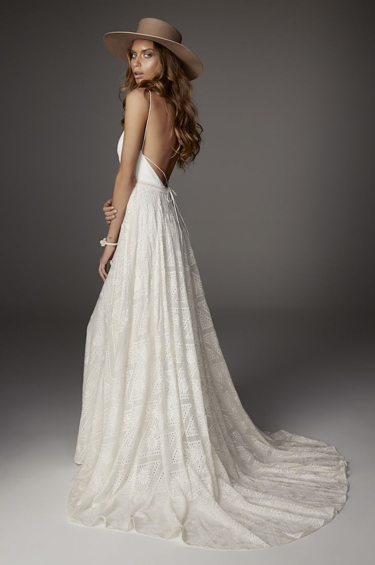 Haze gown rue de seine wedding dress collection robe pinterest