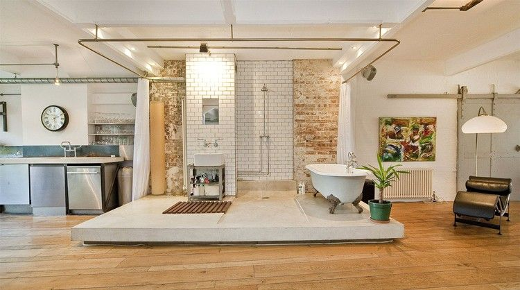 Clerkenwell Warehouse Bathroom Jpg 750 418
