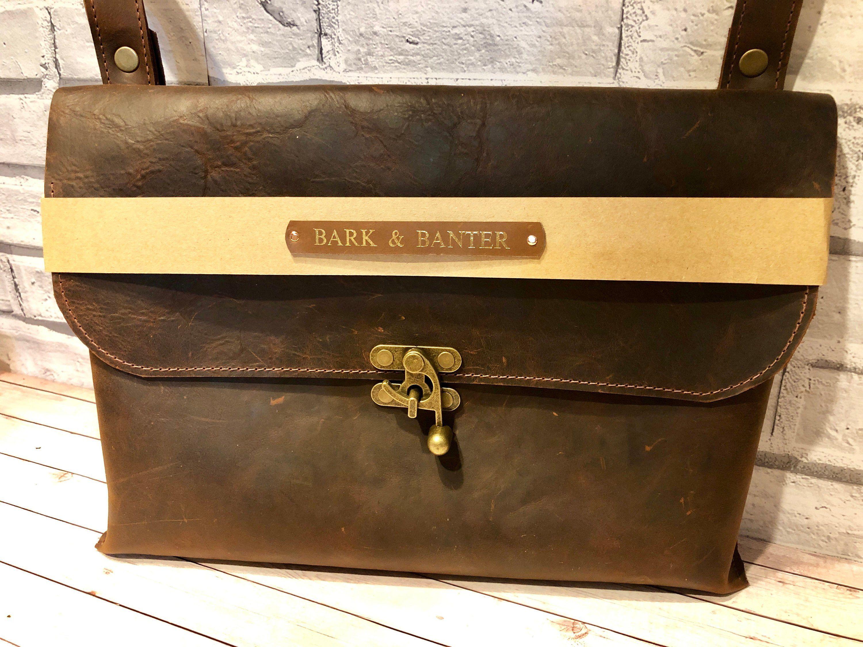 20eda4f3f4d8 Leather Laptop Bag