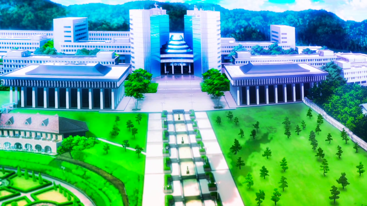 Image result for anime school building