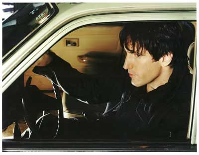 Photo of Trent Reznor  - car