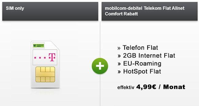 Debitel Telekom Magenta Mobil XS Telekom