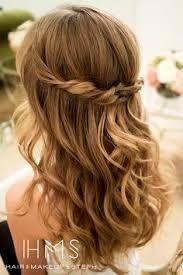Bildergebnis Für Brautfrisur Schulterlang Offen Frisuren