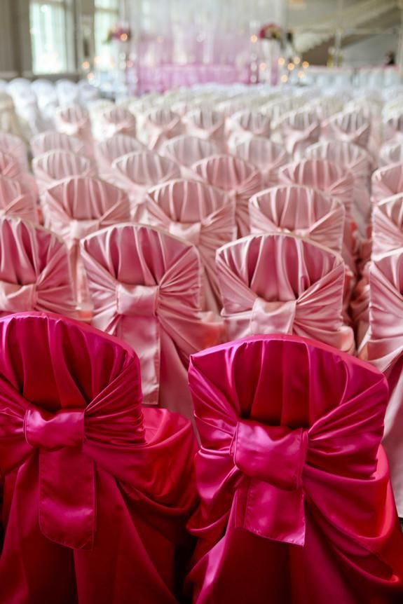 Linen Effects Gallery Minneapolis Mn Event And Wedding Rental Pink Ombre Wedding Ombre Wedding Pink Wedding Theme