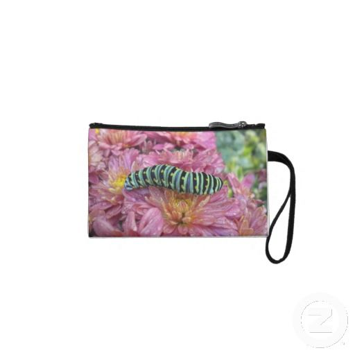 Cute Caterpillar Clutch Wristlet Clutches