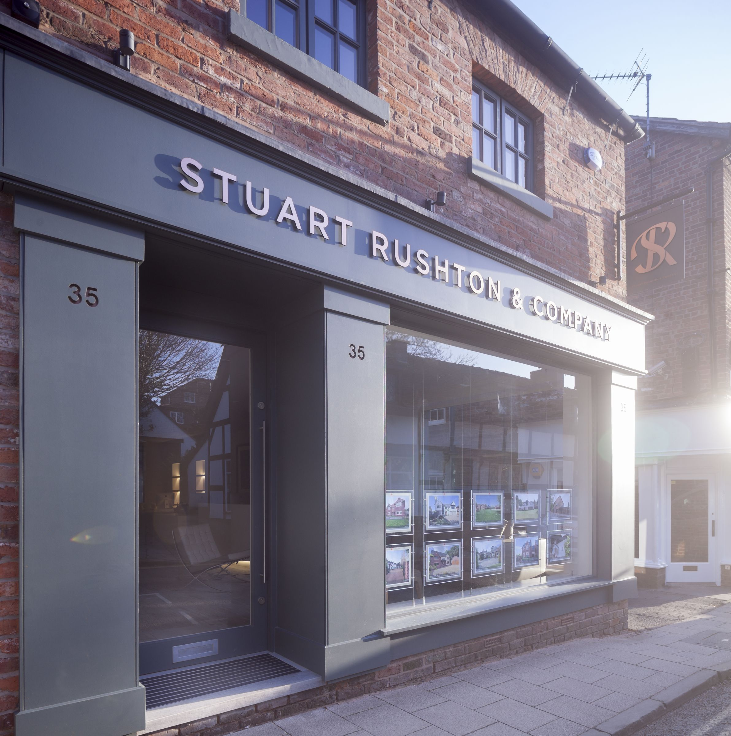 Annabelle Tugby Architects  Shop front design  AT