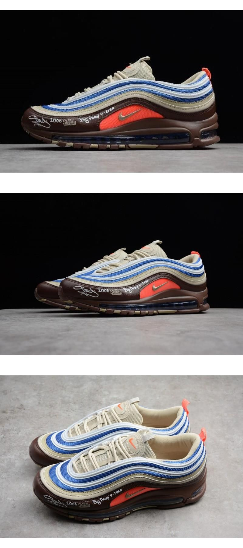 Direct Selling Limited Nike Air Max 97 Eminem Shady Records