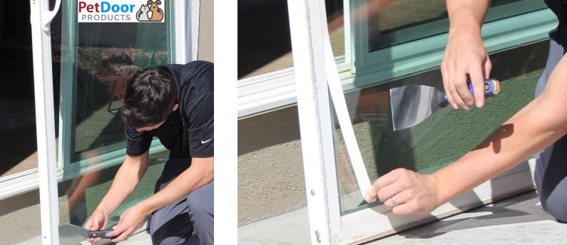 Diy pet door installation diy dog and cat door install