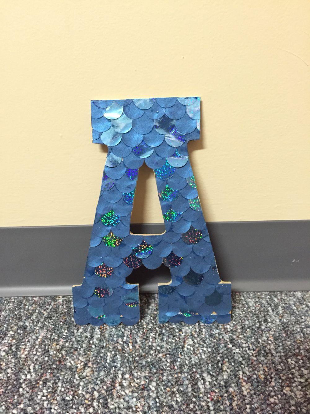 DIY handmade letter \
