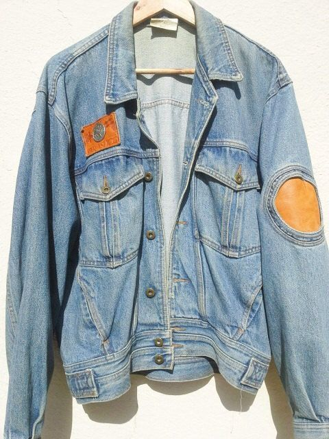 Vintage PARASUCO Jacket Parasuco Jean Jacket by GarageEccentrica, $84.90 www.garageeccentrica.etsy.com