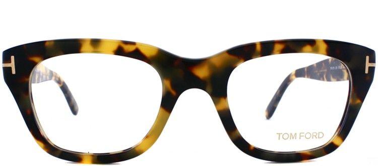 21d7319672e Tom Ford TF5178 FT5178 055 Vintage Havana Plastic Wayfarer Optical Frame