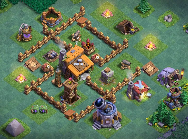 16 Best Builder Hall 3 Base 2019 | Clash of Clan | Clash of