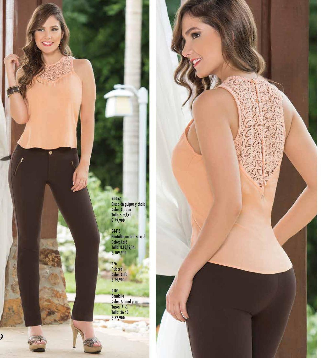 Catalogo 31 Pdf Blusas Femininas Roupas Da Moda Modelos Fashion