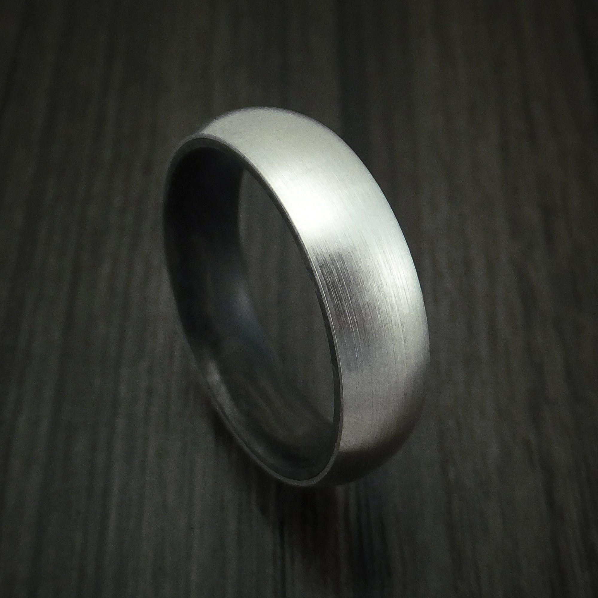 Titanium with Solid Carbon Fiber Sleeve Custom Made