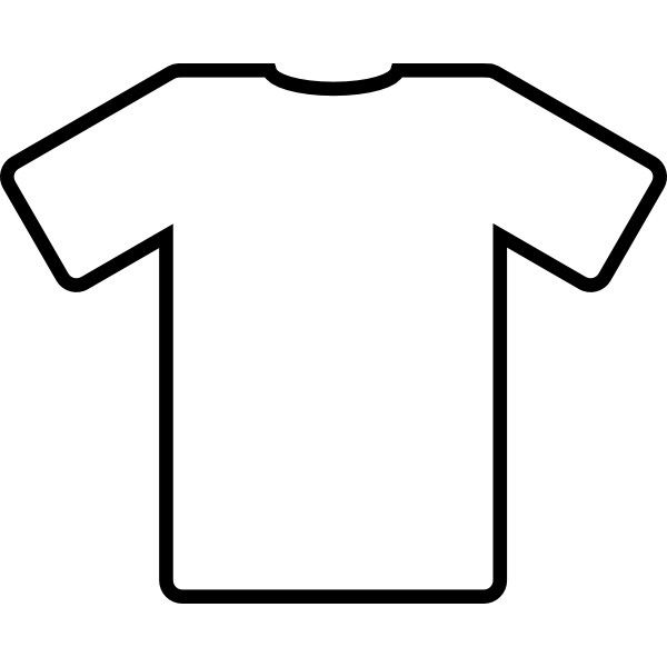 Download White T Shirt Clip Art Shirt Drawing Shirt Clipart T Shirt Clipart