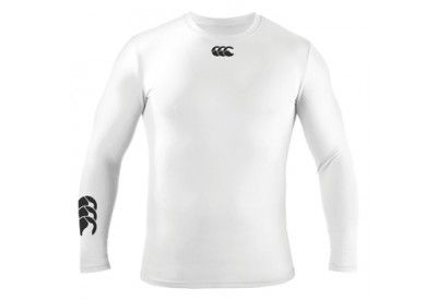 Canterbury Base Layer Cold Ls T Shirt White Rugby Sports Ropa De Hombre Ropa Mezclilla