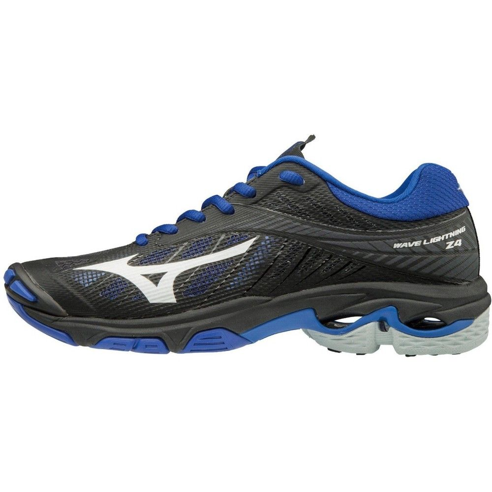 Mizuno Wave Lightning Z4 Women S Volleyball Shoes Size 10 5 In Color Black Royal 9052 Volleyball Shoes Best Looking Shoes Mizuno
