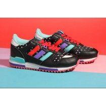 buy online d8100 e5645 Zapatillas Adidas Originals ZX 700 Mujer Negro   Celeste   Azul Rojo    Violeta   Luz
