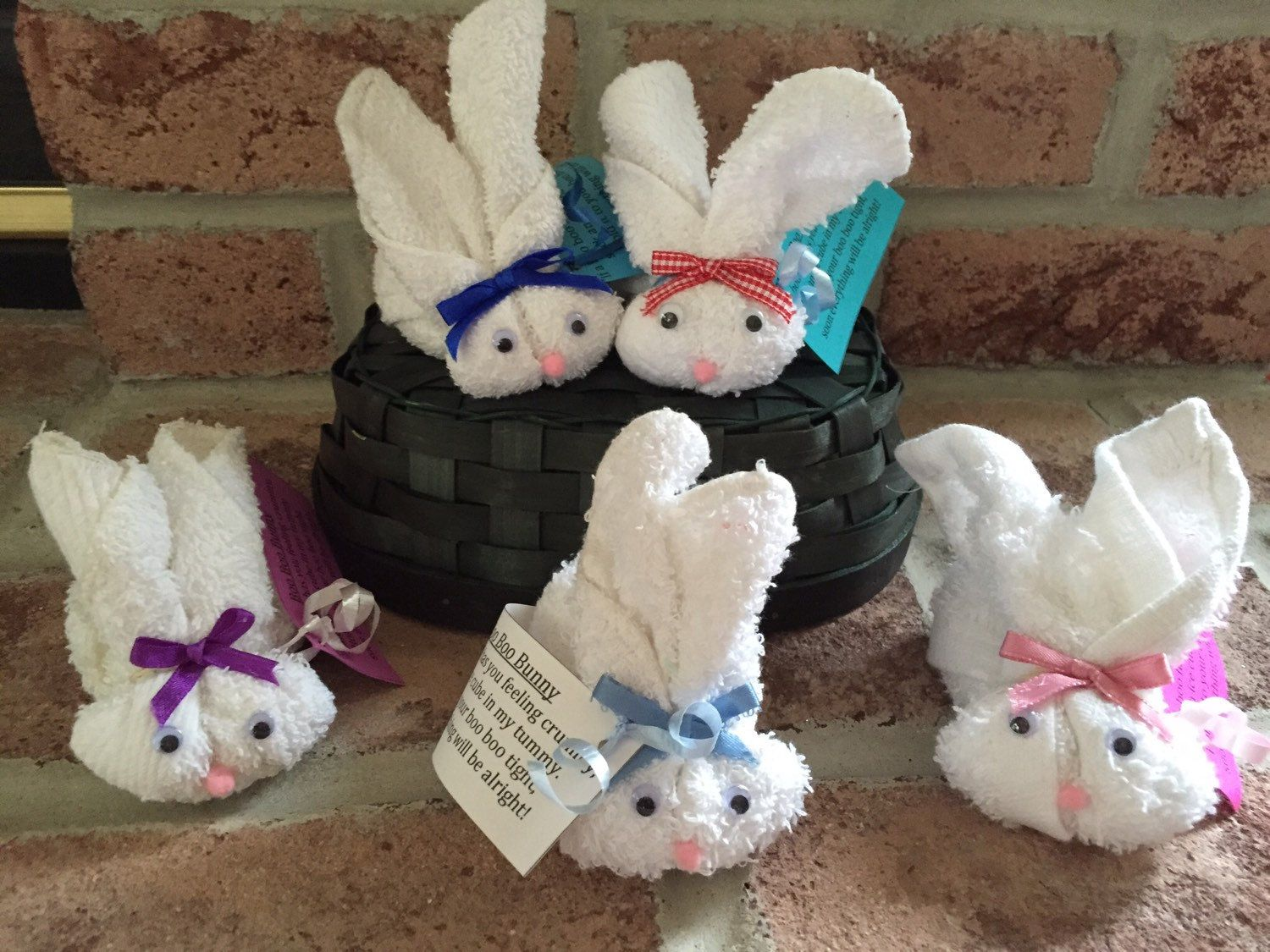 White boo boo bunny set of 3 woodland baby shower favor gift white boo boo bunny set of 3 woodland baby shower favor gift cold ice pack mommy to be easter gift stocking stuffer gender neutral negle Gallery