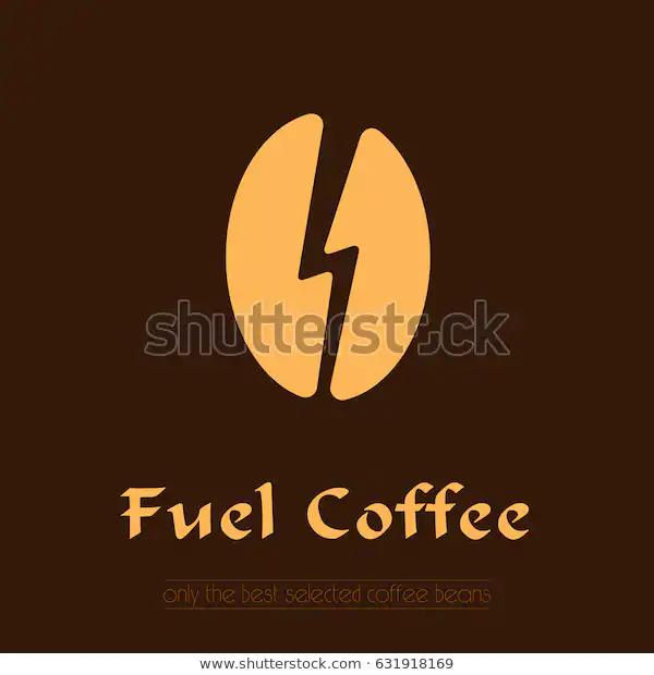 Coffee Logo Coffee Bean Icon Label Stock Vector (Royalty