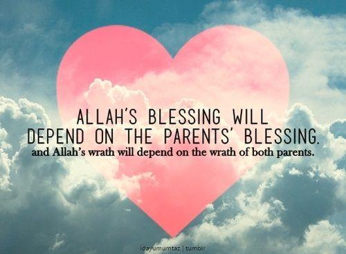 Love your parents. | Islamic | Pinterest | Islamic quotes, Islamic ...