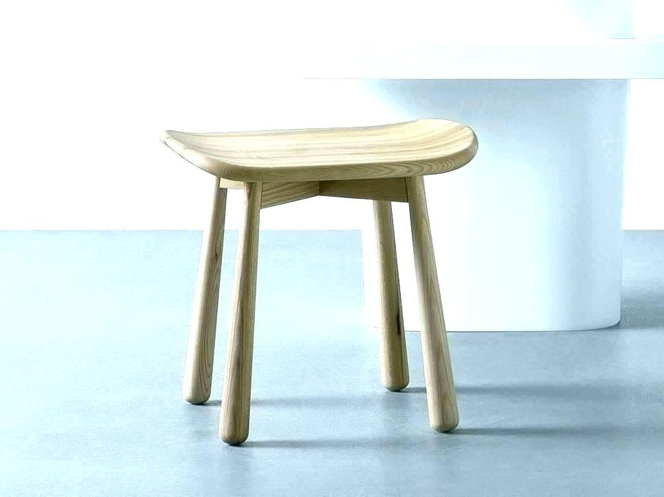 Small Stool For Bathroom Wooden Bathroom Stool Small Wooden Stool