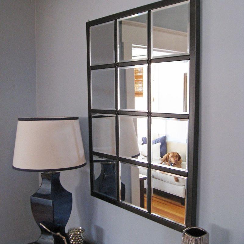 Diy Multipanel Eagan Mirror Diy Living Room Decor Wall Decor