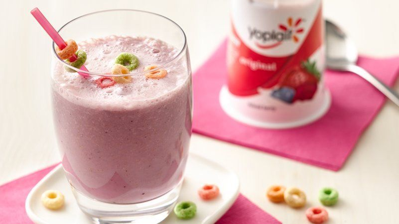 Fruit burst and cereal smoothies receita ccuart Choice Image