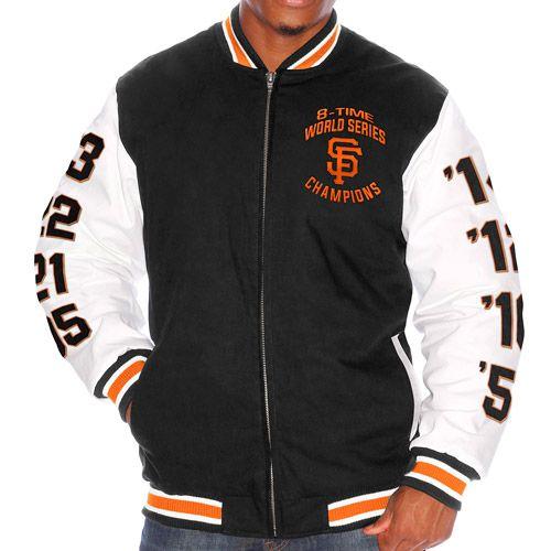San Francisco Giants 2014 World Series Champions Commemorative Cotton Canvas Jacket - MLB.com Shop