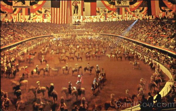 The Grand Entry Cowboys And Cowgirls Amon Carter Square Fort Worth Tx Fort Worth Stock Show Fort Worth Rodeo Fort Worth Texas
