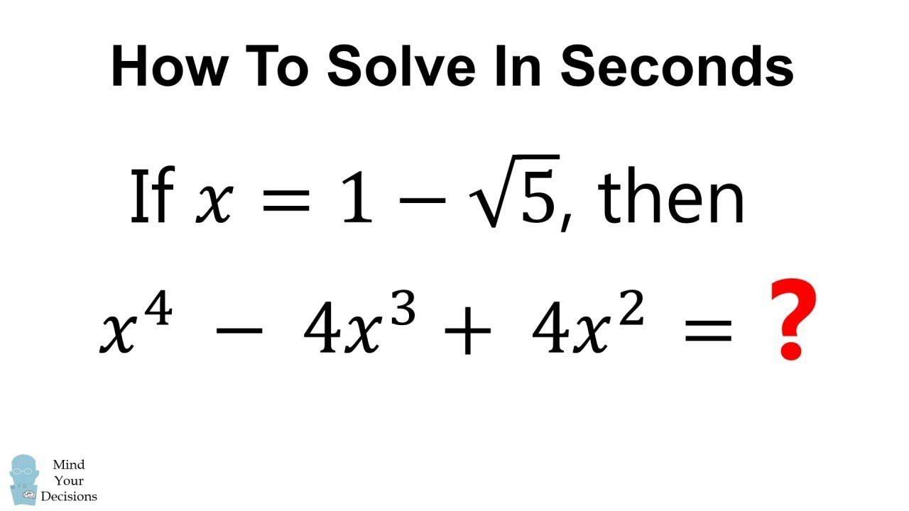 How To Solve This Quickly 2 Minutes No Calculator Learning Mathematics Math Genius Mental Math Tricks