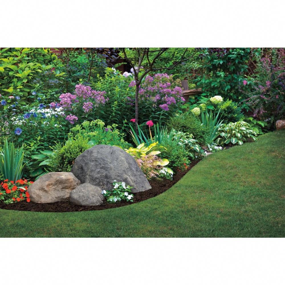 Outdoor Essentials 28 in. x 19 in. x 20 in. Tan Jumbo Landscape Rock-204954 - The Home Depot